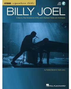 Keyboard Signature Licks: Billy Joel (incl. Online Audio)