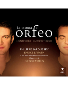 La Storia di Orfeo CD Cover
