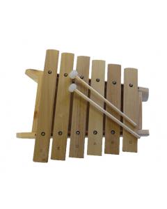 Marimba i træ - 6 toner (G pentaton)