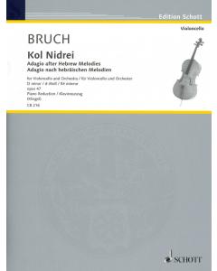 Bruch: Kol Nidrei op. 47 (Violoncello, Piano)