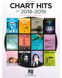 Chart Hits of 2018-2019 (Easy Piano)