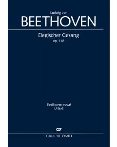 Beethoven: Elegischer Gesang, op. 118 (Vocal Score)