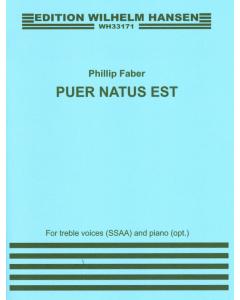Faber, Phillip: Puer Natus Est (SSAA, Piano)