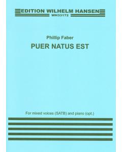 Faber, Phillip: Puer Natus Est (SATB, Piano)