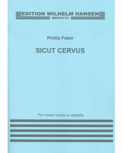 Faber, Phillip: Sicut Cervus (SATB div. a cappella)
