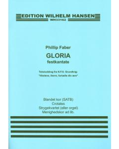 Faber, Phillip: Gloria - festkantate PARTITUR