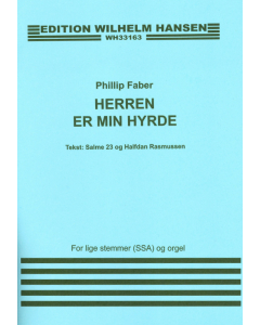 Faber, Phillip: Herren er min hyrde (SSA og orgel)