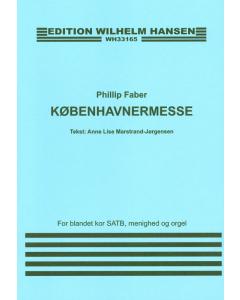 Faber, Phillip: Københavnermesse (SATB, menighed og orgel)