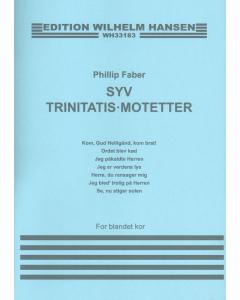 Faber, Phillip: Syv Trinitatis-motetter (SATB a cappella)