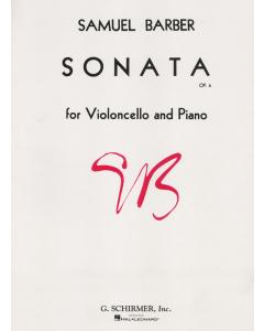 Barber, Samuel: Sonata, op.6 for Violoncello and Piano