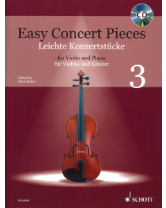 Easy Concert Pieces for Violin and Piano