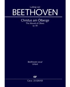 Beethoven: Christus am Ölberge, op. 85 (Vocal Score)