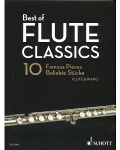 Best of Flute Classics - 10 Famous Pieces for Flute and Piano