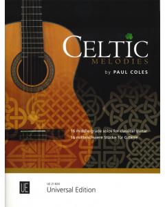 Celtic Melodies for guitar (Paul Coles)