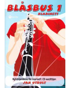 Blåsbus 1 - Klarinett (incl. CD)