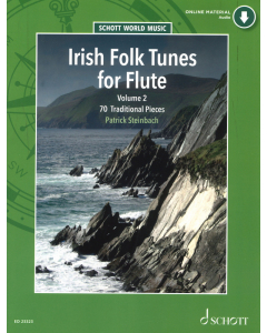 Irish Folk Tunes for Flute - Volume 2 (incl. Online Audio)