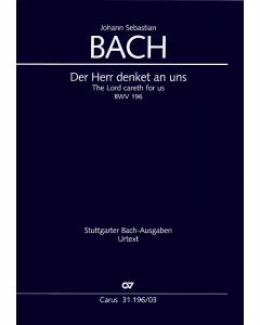 Bach, J.S.: Der Herr denket an uns, BWV 196 (Vocal Score)