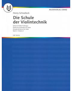 Schradieck, Henry: Die Schule der Violintechnik / School of Violin Technique (Vol. 2)