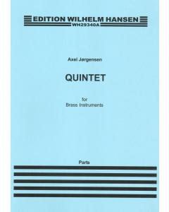 Jørgensen, Axel: Quintet for Brass Instruments (Set of Parts)