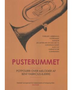 Pusterummet - Potpourri over melodier af Bent Fabricius-Bjerre (Arr. Wolfgang Käfer) - for blæserorkester