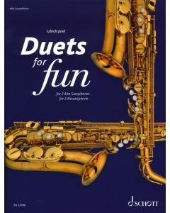 Duets for Fun: Alto Saxophones