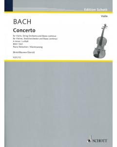 Bach, J.S.: Concerto a-Moll BWV 1041 (Violin, Piano)