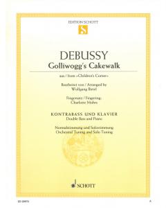 "Debussy: Golliwogg's Cakewalk from ""Children's Corner"" (Double Bass, Piano)"