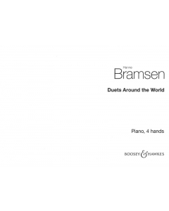 Bramsen, Hanne: Duets Around the World (Piano 4-Hands)