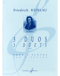 Kuhlau: 3 Duets, op. 81 for Two Flutes