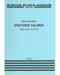 Lorentzen, Bent: Erotiske salmer (Baryton og orgel)