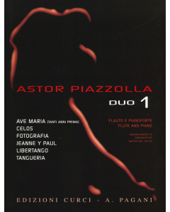 Astor Piazzolla for Duo, Volume 1 (Flute and Piano)