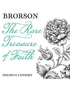Brorson - The Rare Treasure of Faith (Phemius Consort) CD COVER