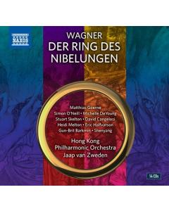 Wagner, Richard: Der Ring des Nibelungen (Hong Kong Philharmonic Orchestra; Jaap van Zweden) (14CD-BOX)