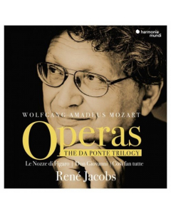 Mozart: Operas - The Da Ponte Trilogy (René Jacobs) (9CD-BOX)