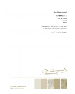 Langgaard Antikrist Sheet Music