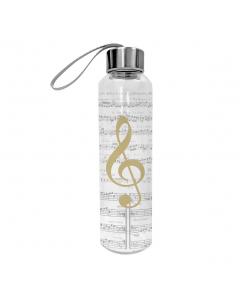 Vandflaske - I Love Music GOLD