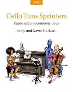 Cello Time Sprinters (Piano Accompaniment Book)