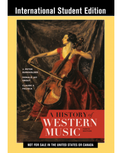 A History of Western Music - Tenth International Student Edition
