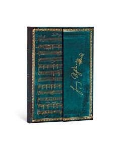 Paperblanks Embellished Manuscripts Collection - Schubert, Erlkönig (Mini, lined, wrap, 176 sider)