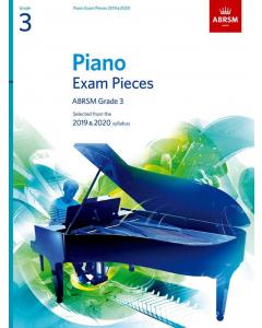 ABRSM Piano Exam Pieces 2019-2020 (Grade 3)
