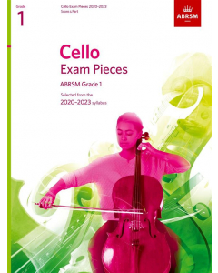 Cello Exam Pieces 2020-2023, ABRSM Grade 1 (Score & Part)