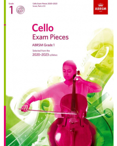 Cello Exam Pieces 2020–2023, ABRSM Grade 1 (Score, Part & CD)
