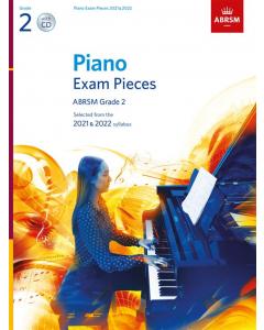 ABRSM Piano Exam Pieces 2021 & 2022 (Book with CD) (Grade 2)