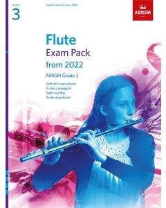 Flute Exam Pack from 2022, ABRSM Grade 3