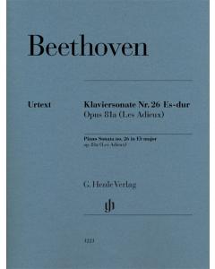 Beethoven: Klaviersonate Nr. 26 Es-dur, op. 81a (Les Adieux)
