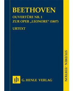 "Beethoven, Ludwig van: Ouvertüre Nr. 1 zur Oper ""Leonore"", op. 138 (Study Score)"