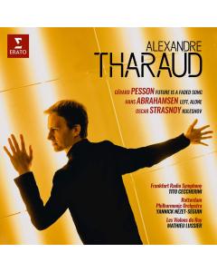 Contemporary Concertos by Pesson, Abrahamsen & Strasnoy (Alexandre Tharaud, piano) (CD)