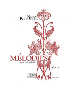 Boulanger, Nadia: Mélodies pour Voix moyenne, Vol. 2 (Medium Voice, Piano)