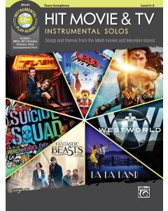 Hit Movie & TV - Instrumental Solos (Tenor Saxophone incl. CD)