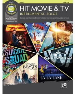Hit Movie & TV - Instrumental Solos (Violin incl. CD)